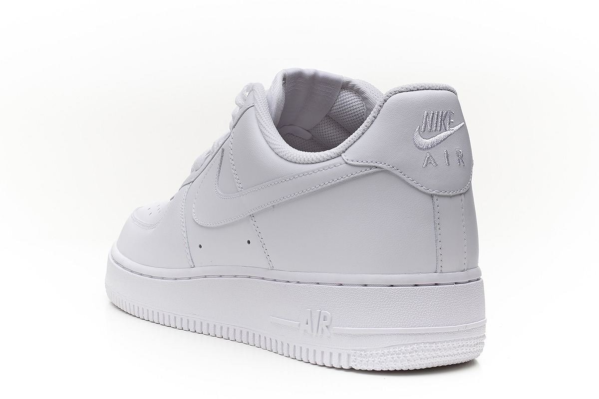 Nike Air Force 1 Bajo Tamaño Blanco 5